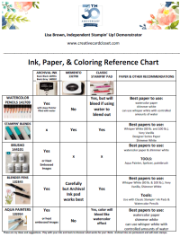 Ink & Color Guide