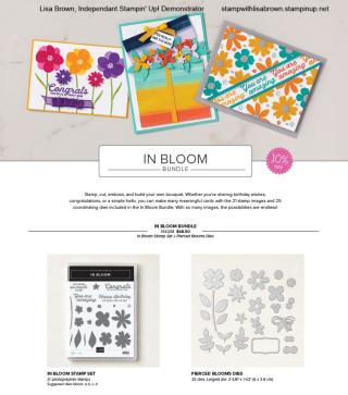 In Bloom Flier